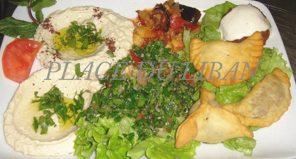 le mezze traditionnel